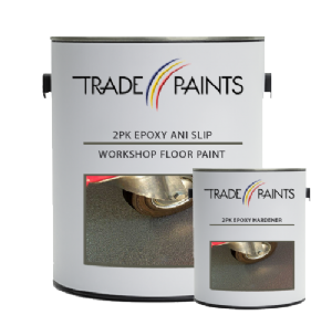 2 Pack Epoxy Anti Slip Workshop Floor Paint | paints4trade.com